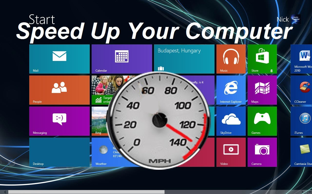 10 ways to speed up Windows